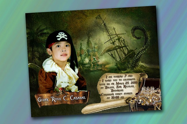 Guian's 7th Birthday Pirates Theme